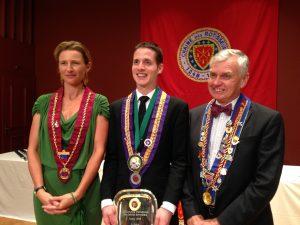 Princess Marie von und zu Liechtenstein, Emmanuel Cadieu and John Studdert